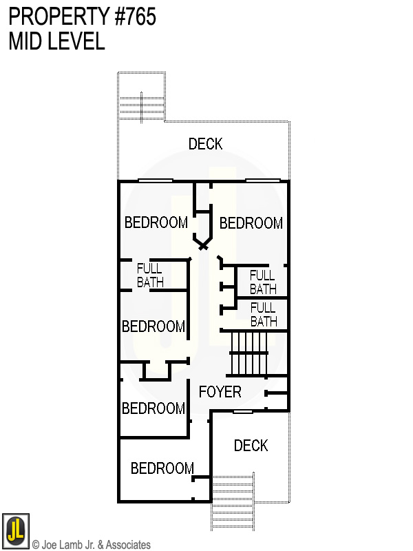 Floorplan: 765 Mid Level