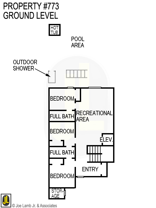 Floorplan: 773 Ground Level