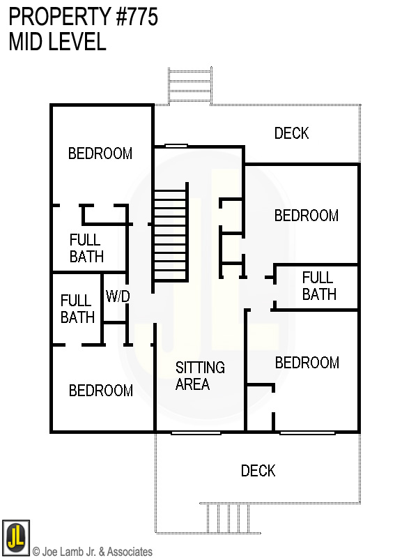 Floorplan: 775 Mid Level