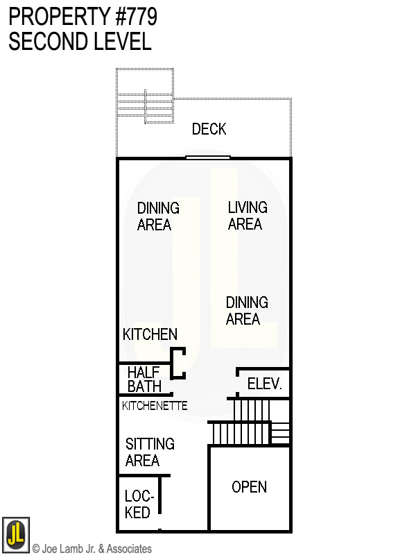 Floorplan: 779 Second Level