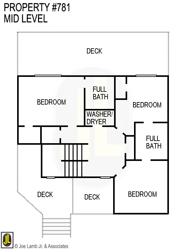 Floorplan: 781 Mid Level