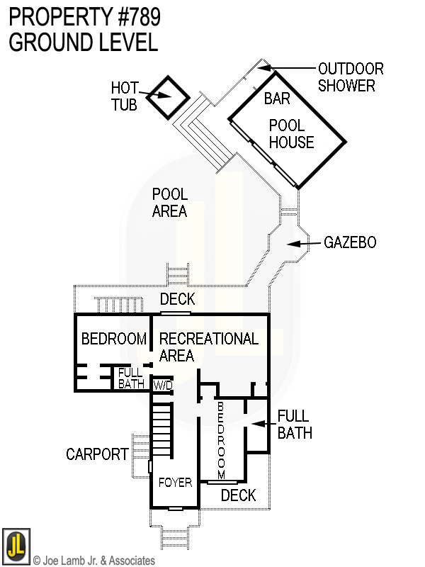 Floorplan: 789 Ground Level