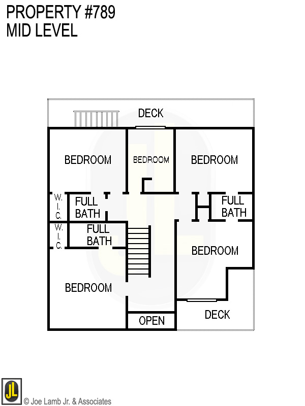 Floorplan: 789 Mid Level