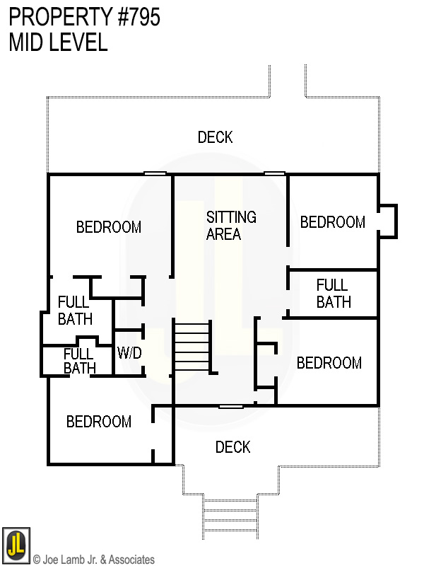 Floorplan: 795 Mid Level