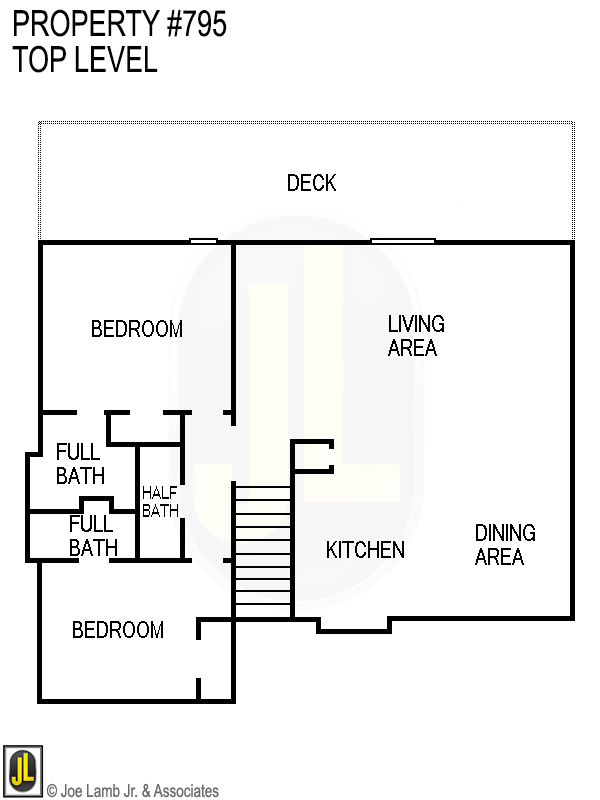 Floorplan: 795 Top Level