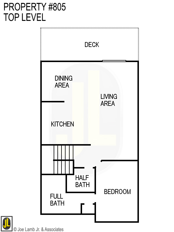 Floorplan: 805 Top Level