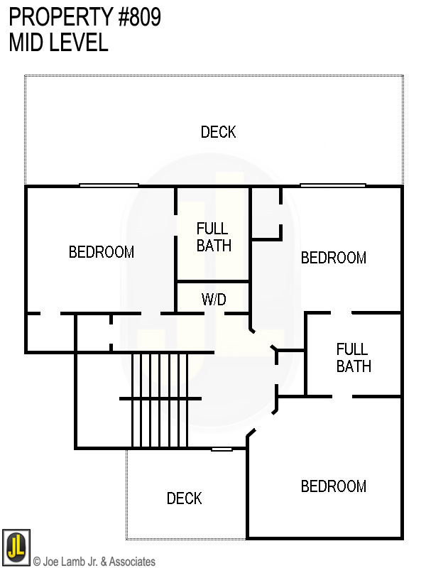 Floorplan: 809 Mid Level
