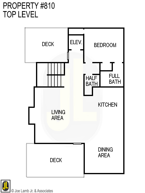 Floorplan: 810 Top Level