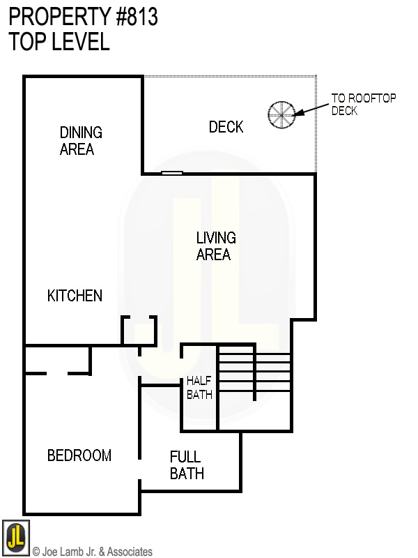 Floorplan: 813 Top Level