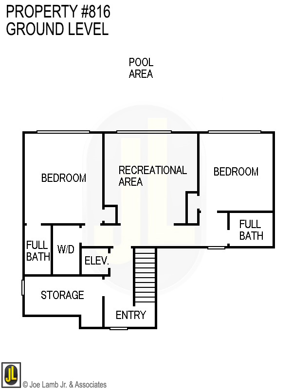Floorplan: 816 Ground Level