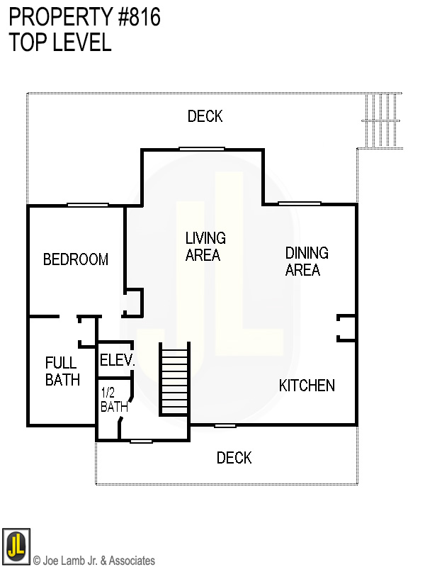 Floorplan: 816 Top Level