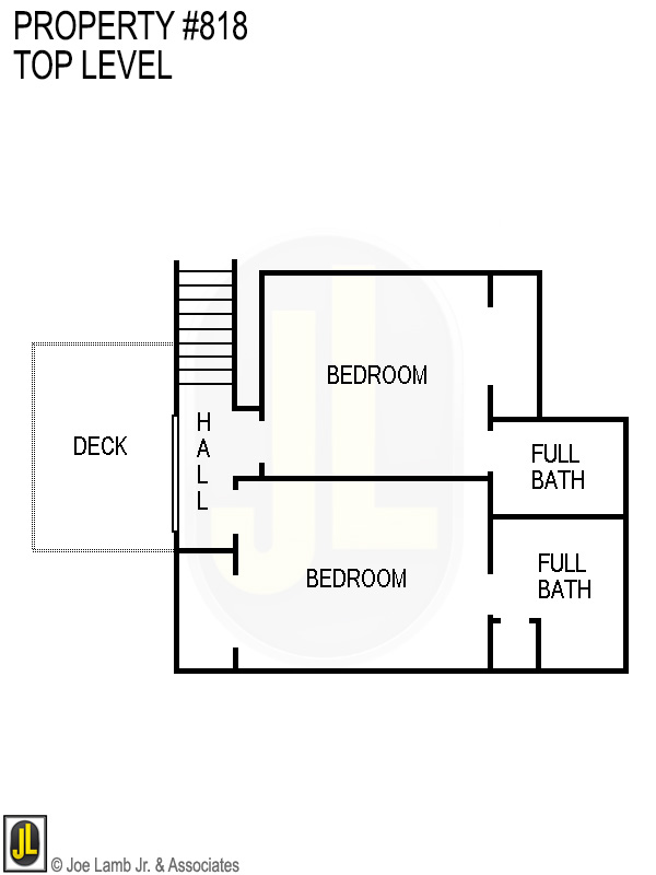 Floorplan: 818 Top Level
