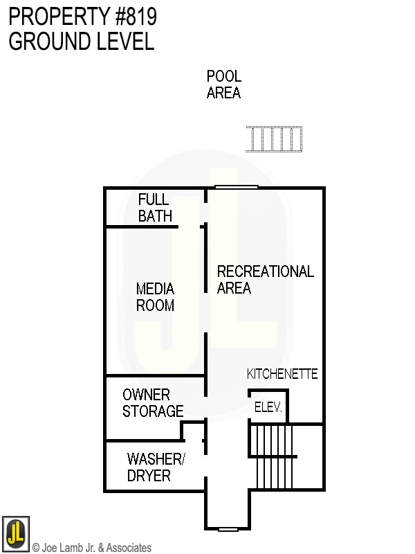 Floorplan: 819 Ground Level