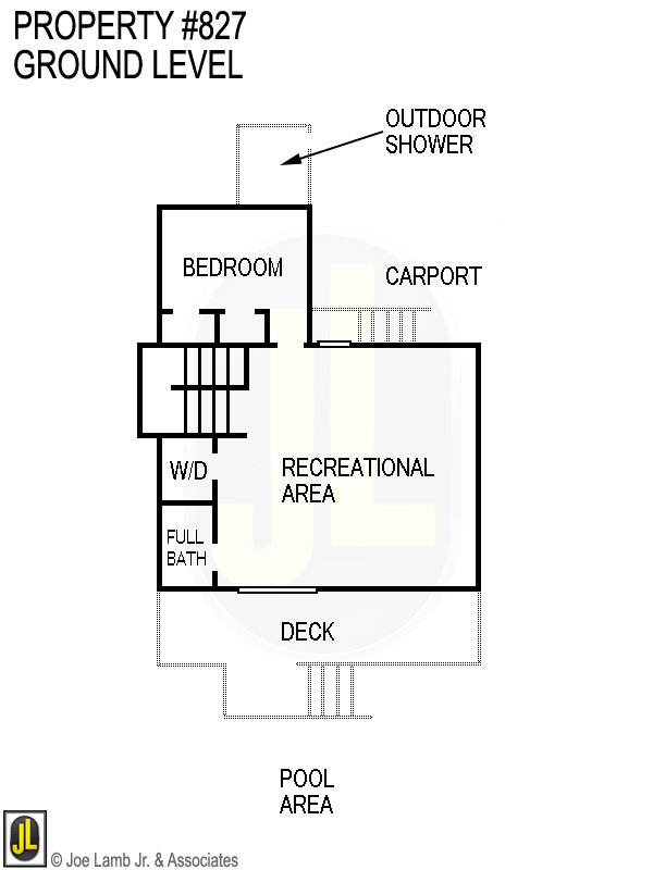 Floorplan: 827 Ground Level