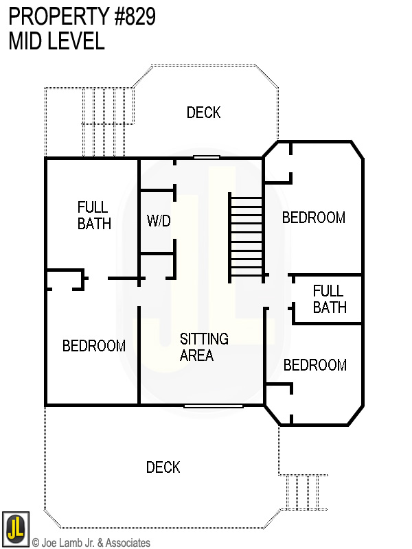 Floorplan: 829 M8id Level