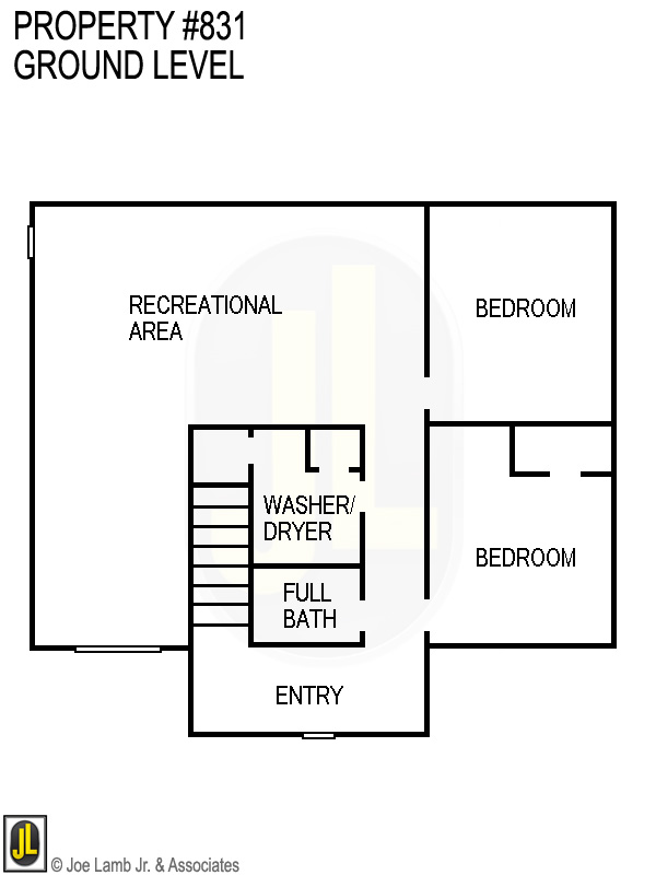 Floorplan: 831 Ground Floor