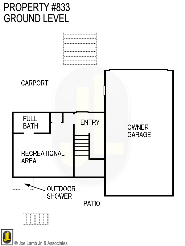Floorplan: 833 Ground Level
