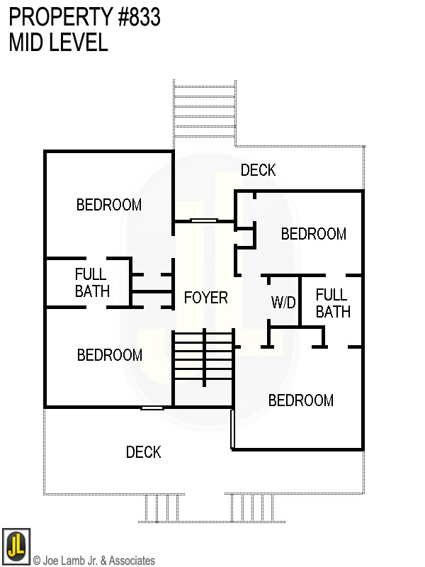 Floorplan: 833 Mid Level