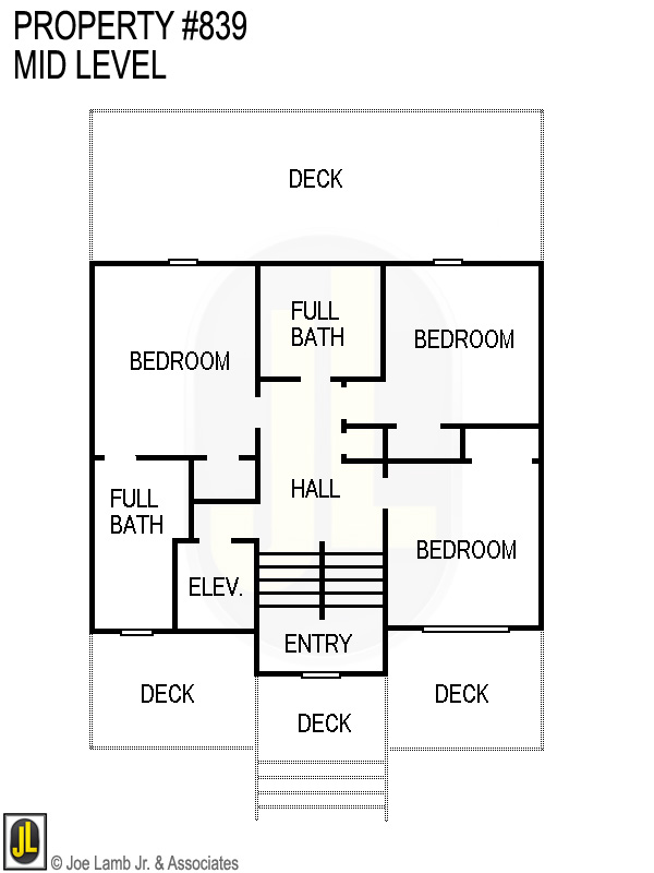 Floorplan: 839 Mid Level