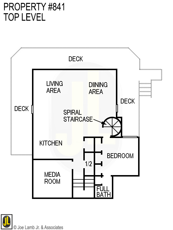 Floorplan: 841 Top Level