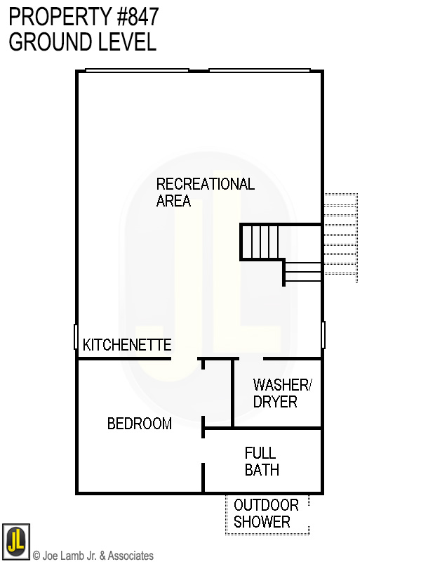 Floorplan: 847 Ground Level