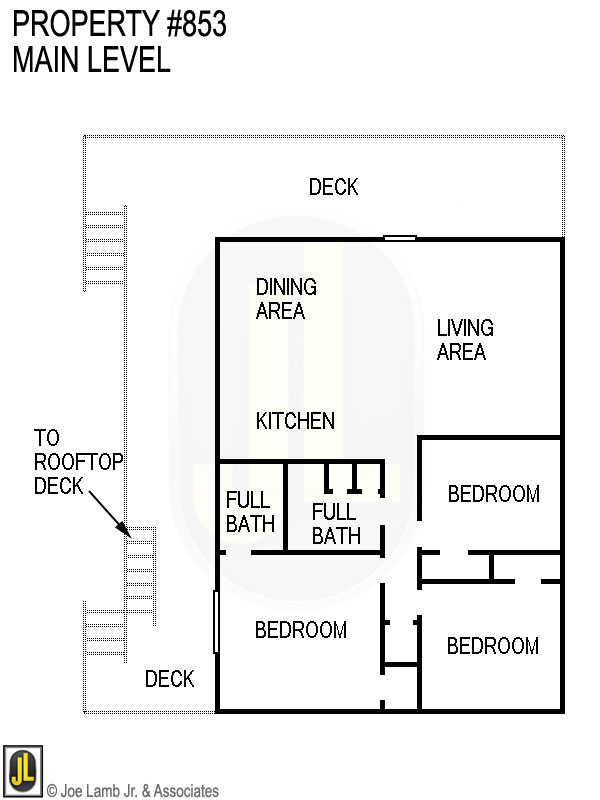 Floorplan: 853 Main Level
