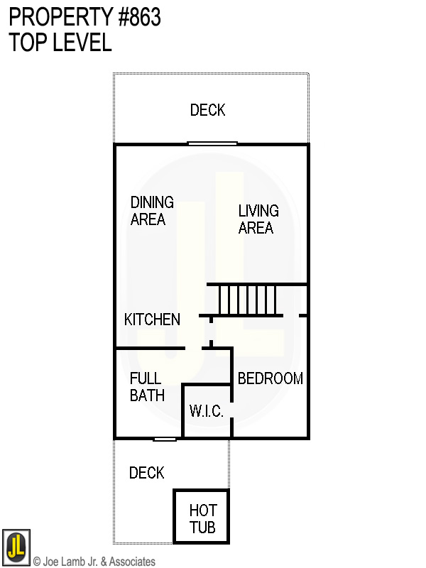 Floorplan: 863 Top Level