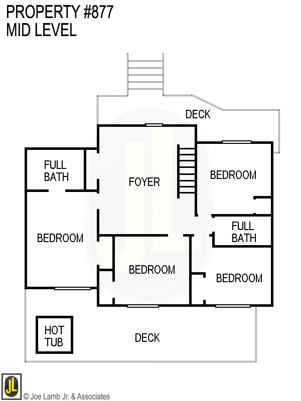 Floorplan: 877 Mid Level