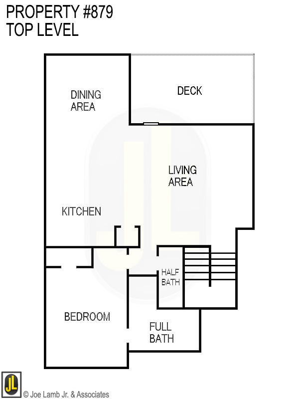 Floorplan: 879 Top Level