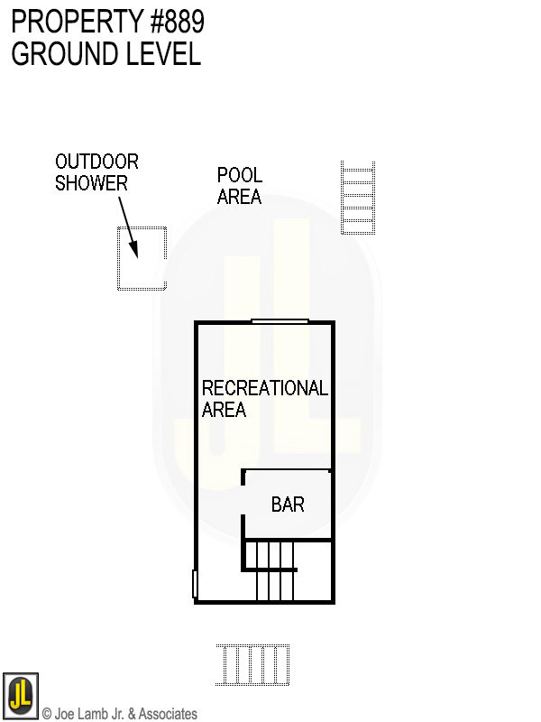 Floorplan: 889 Ground Level