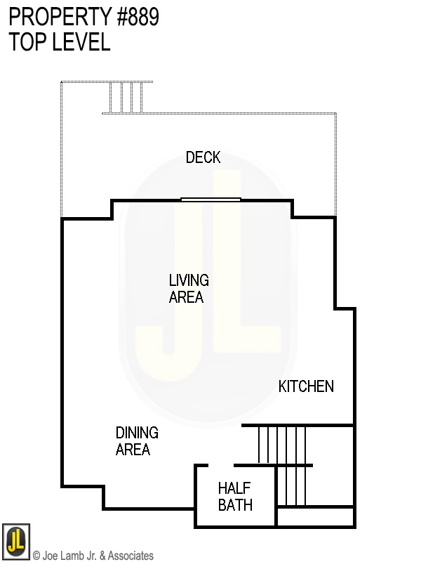 Floorplan: 889 Top Level