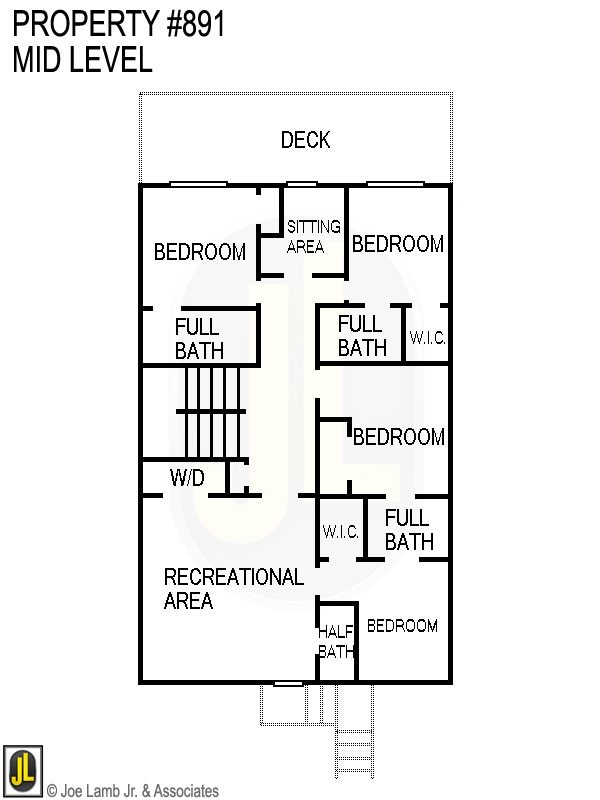 Floorplan: 891 Mid Level