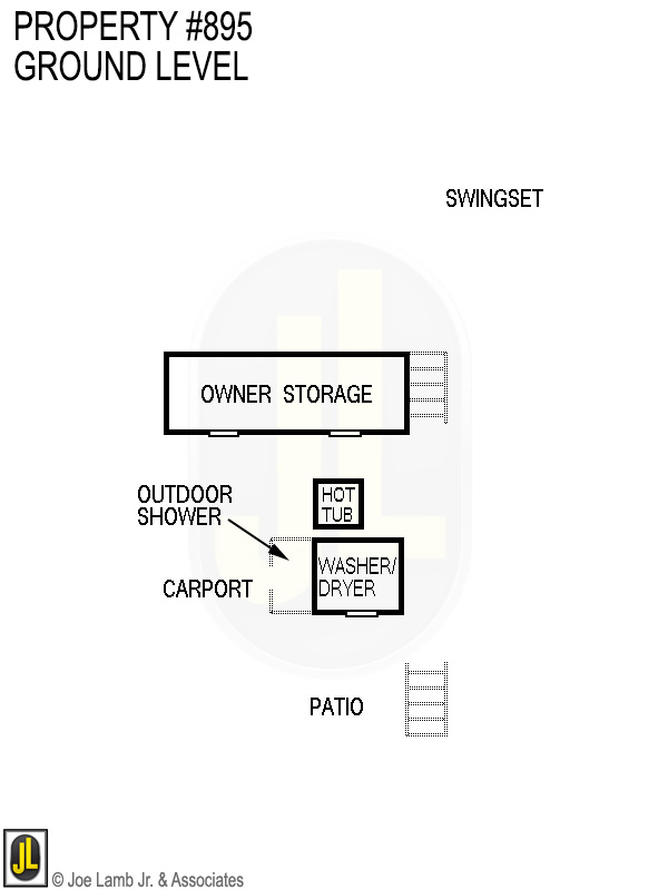 Floorplan: 895 Ground Level