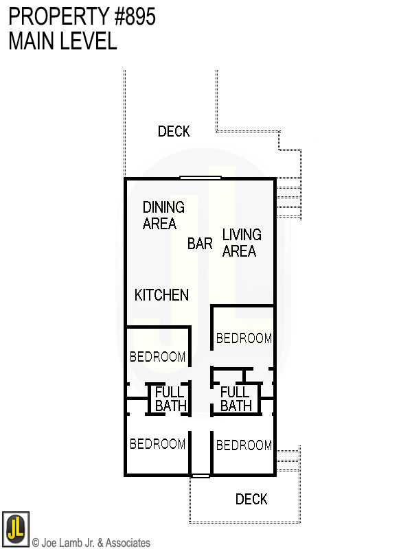Floorplan: 895 Main Level