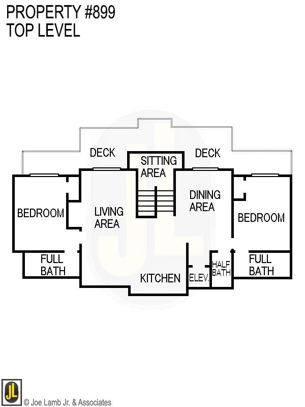 Floorplan: 899 Top Level