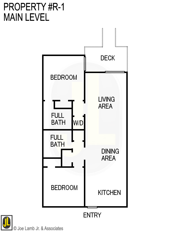 Floorplan: R-1 Main Level