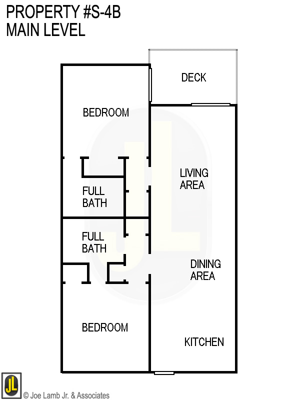 Floorplan: S-4b Main Level